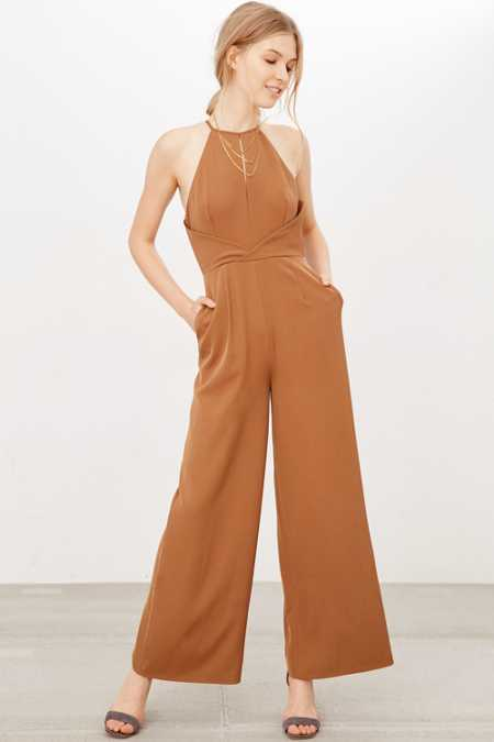 Finders Keepers Guilty Pleasure Wide-Leg Jumpsuit