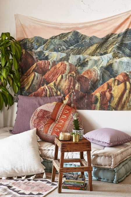 Magical Thinking Multi Mountain Tapestry