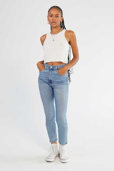 BDG Girlfriend High-Rise Jean - Light Wash