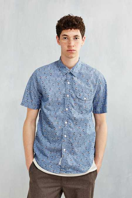 CPO Floral Chambray Button-Down Shirt