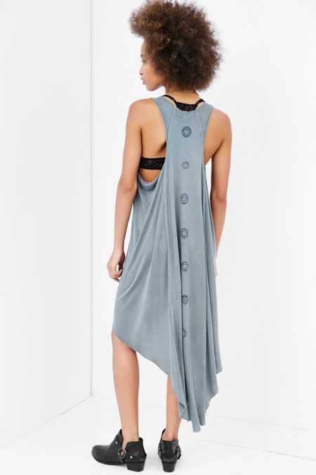 Truly Madly Deeply Open-Seam High/Low Dress