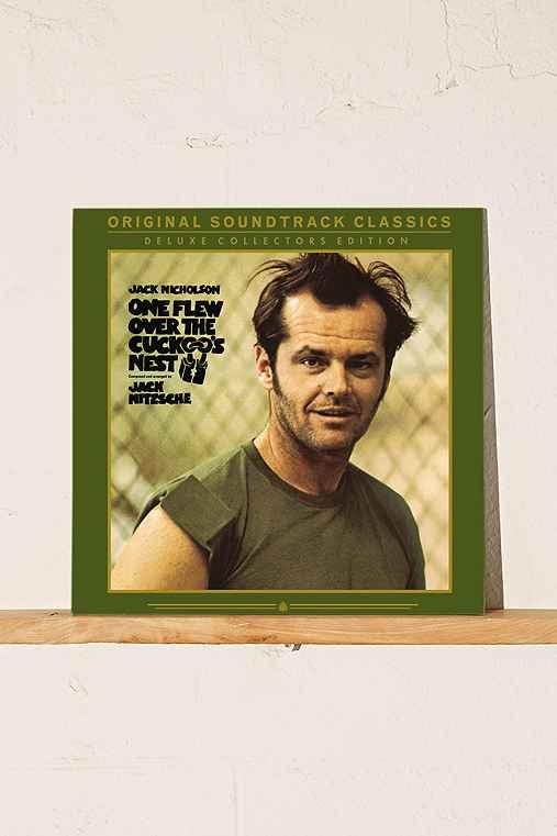Jack Nitzsche - One Flew Over The Cuckoo's Nest Soundtrack LP,BLACK,ONE SIZE