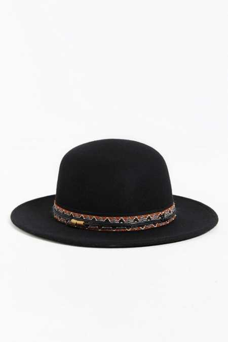 Rosin Round Crown Fedora Hat