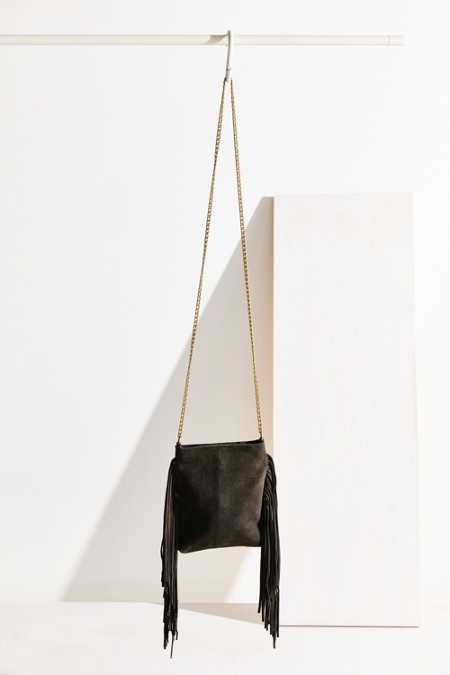 Ecote Suede Chain Mini Crossbody Bag