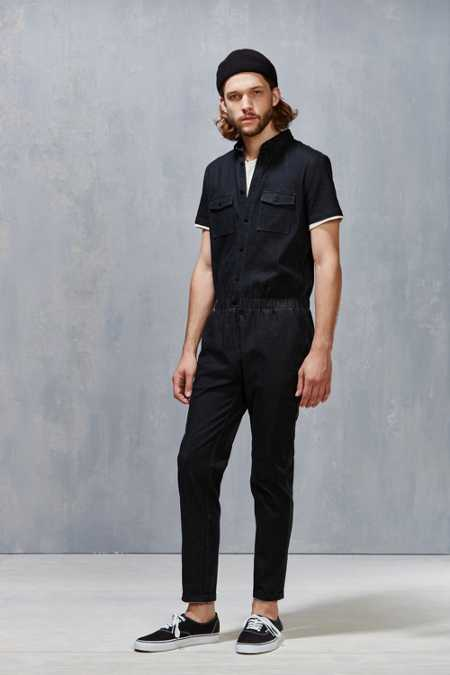 Standard Issue Black Denim Coverall