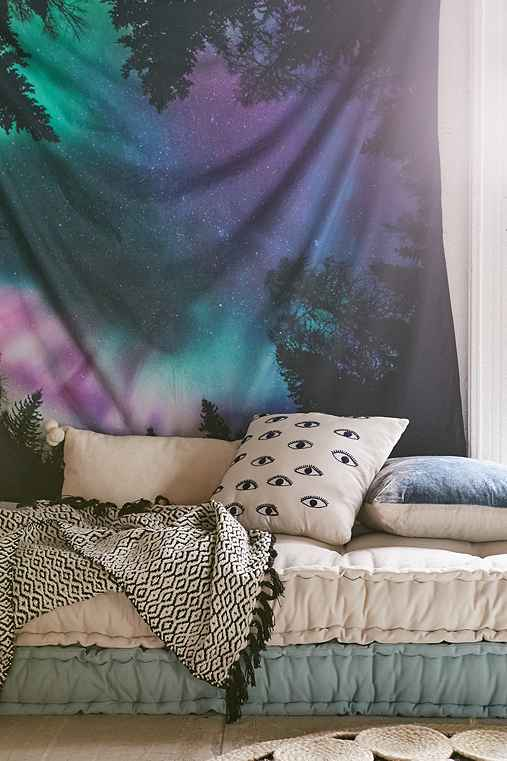 4040 Locust Northern Lights Tapestry   Urban Outfitters