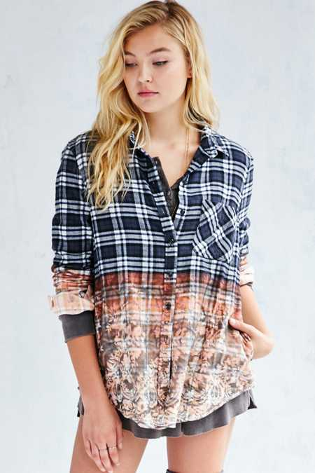 BDG Theo Flannel Shirt