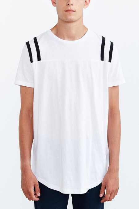 The Narrows Shoulder Stripe Sleeve Tee