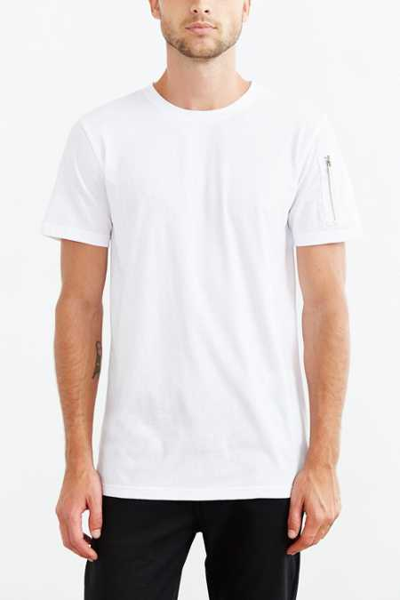The Narrows Sleeve Pocket Crew Neck Tee