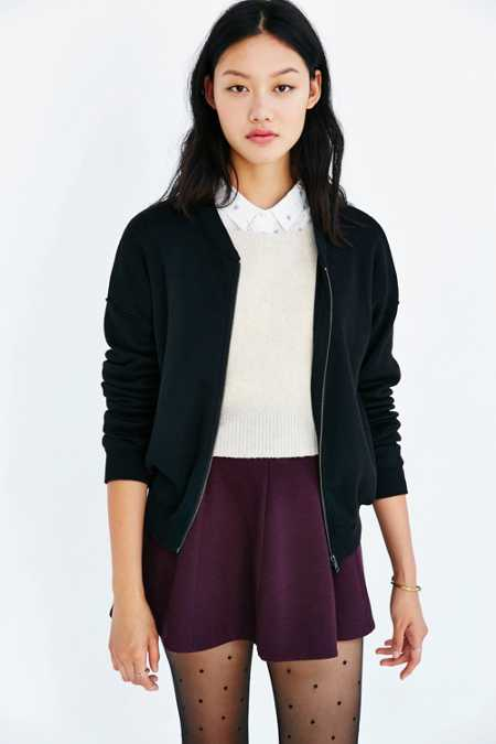 Lucca Couture Varsity Bomber Jacket