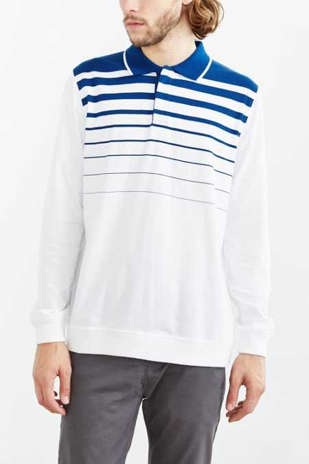 Stussy Gradient Rugby Long-Sleeve Tee