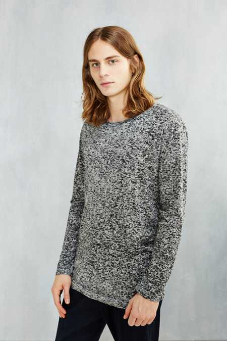 Cheap Monday Hypno TV Fuzz Long-Sleeve Tee