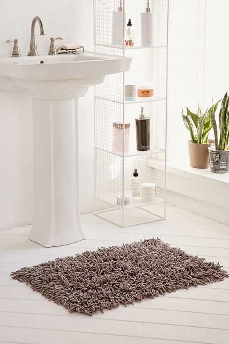 High Pile Shag Bath Mat