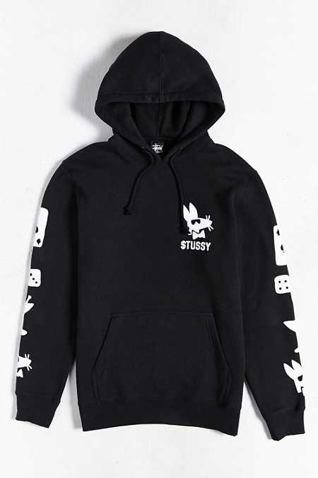 Stussy Paid Rat Hooded Sweatshirt