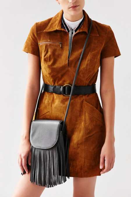 Ecote Fringe Saddle Bag