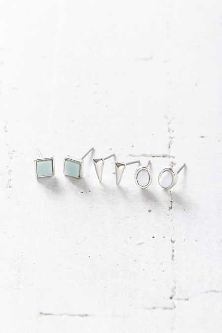 Austin Stone Post Earring Set