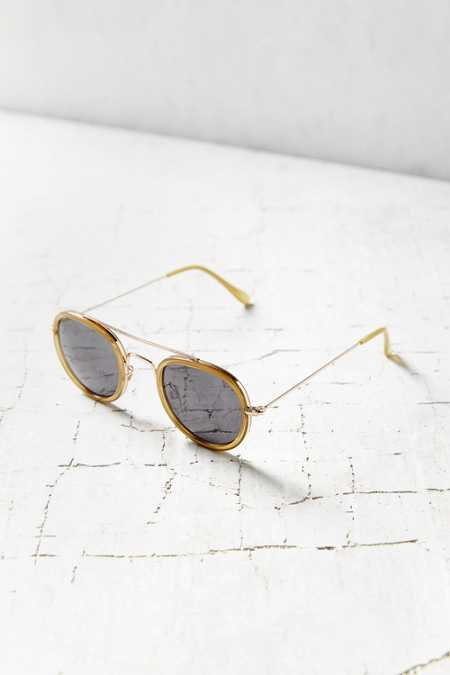 Brooklyn Brow Bar Round Sunglasses