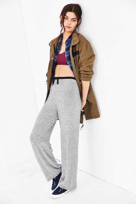 Out From Under Cozy Brushed Wide-Leg Pant