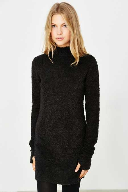 Silence + Noise Villain Sweaterknit Bodycon Dress