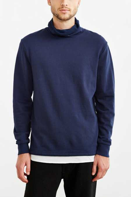 ALTERNATIVE Roll Neck Sweatshirt