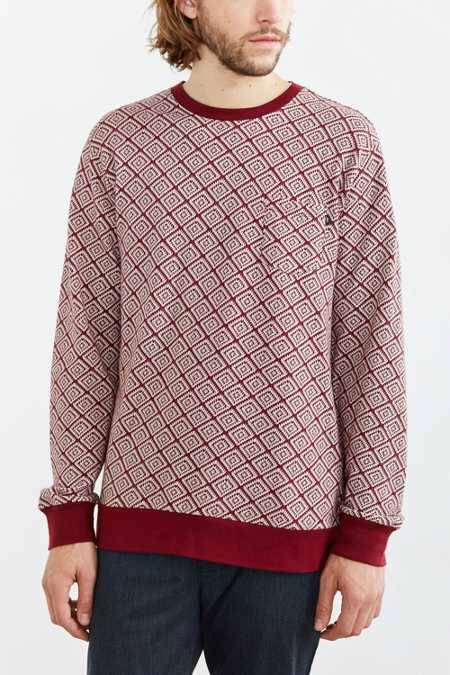 OBEY Jacquard Presser Long-Sleeve Tee