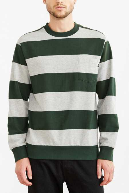 OBEY Edinburgh Stripe Pocket Sweatshirt