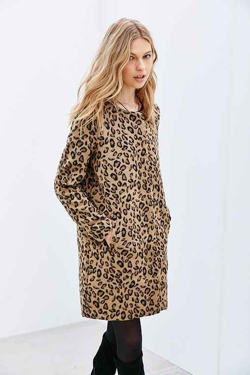 BB Dakota Reagan Coat,LEOPARD,M