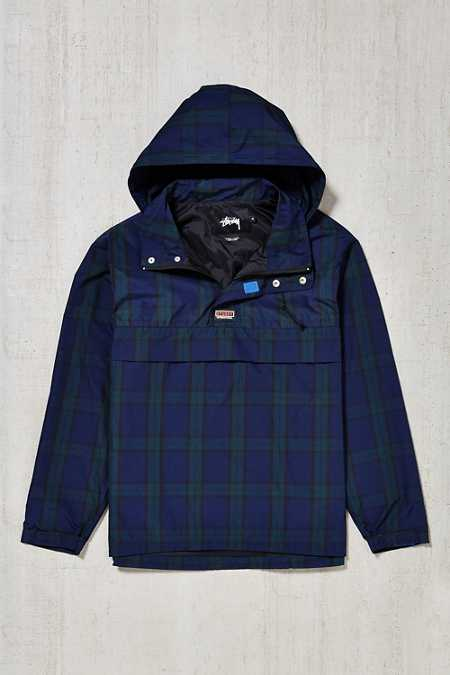 Stussy Plaid Pullover Jacket