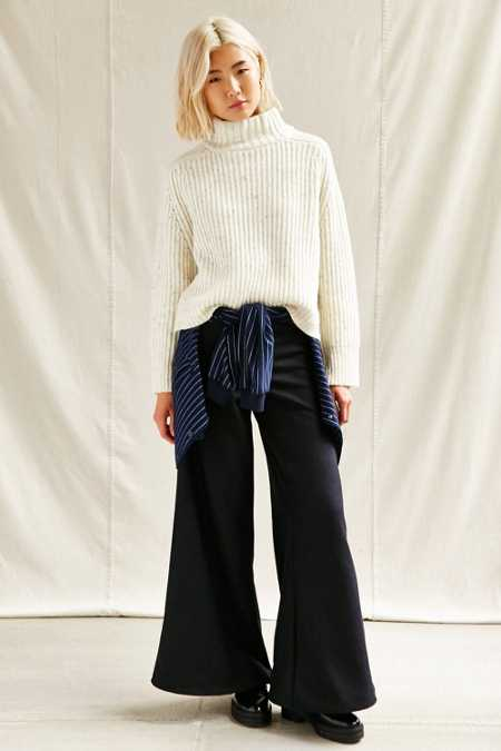 Urban Renewal Recycled High Waist Wide Leg Pant