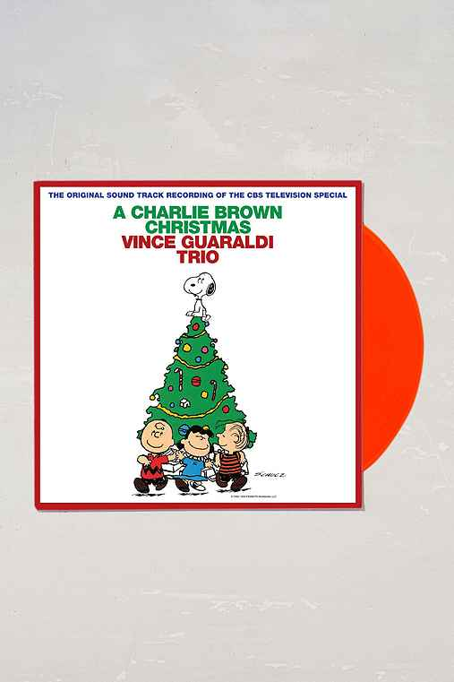 Vince Guaraldi Trio - A Charlie Brown Christmas LP,RED,ONE SIZE