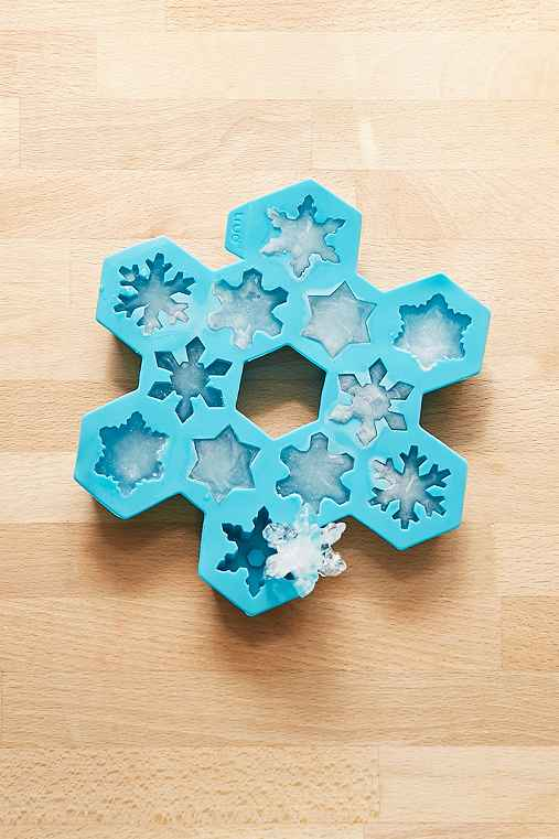 Snowflake Ice Tray,BLUE,ONE SIZE