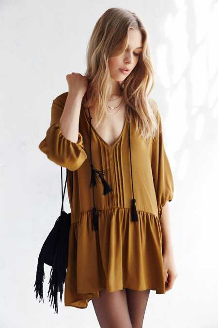 For Love & Lemons Monterey Mini Dress