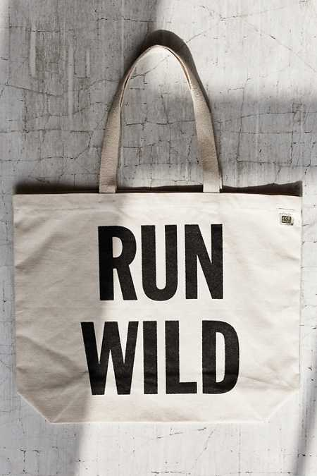 Urban Renewal Recycled Run Wild Tote Bag