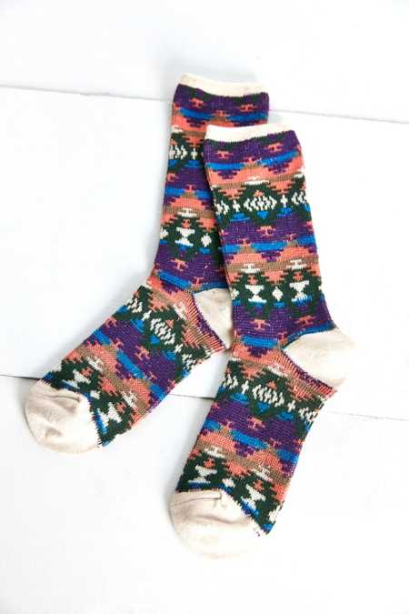 Anonymous Ism Printed Sock