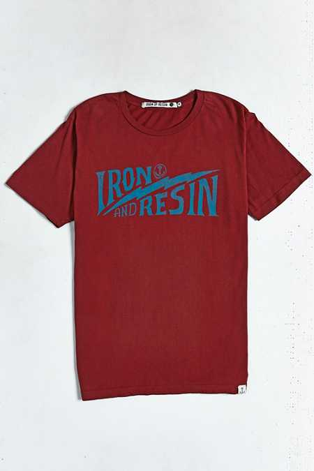 Iron & Resin Bolted Tee