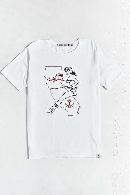 Iron & Resin Ride Cali Tee
