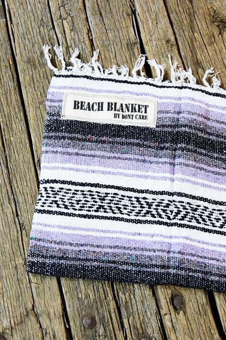 Don't Care Beach Blanket
