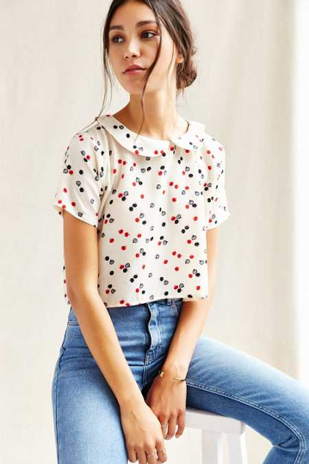 Urban Renewal Remade Peter Pan Collar Shirt
