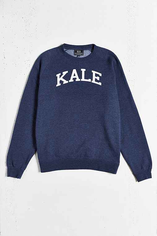 Kale Sweatshirt,NAVY,XL