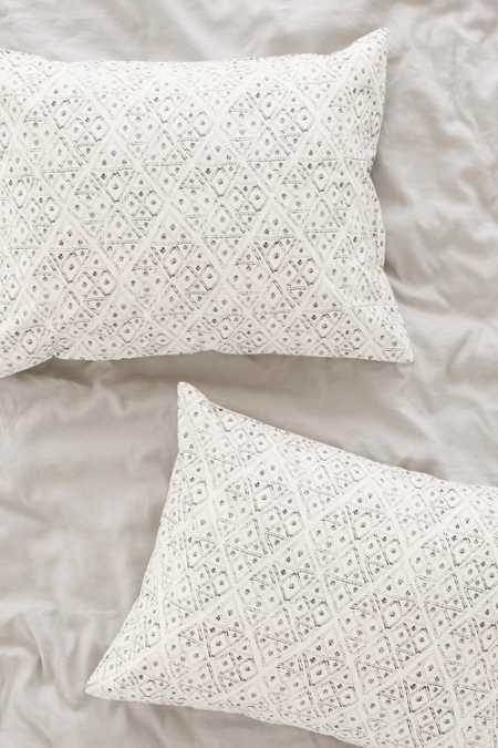 4040 Locust Dotted Diamond Sham Set