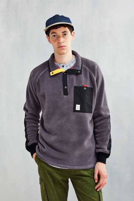 Topo Designs Fleece Pullover Jacket