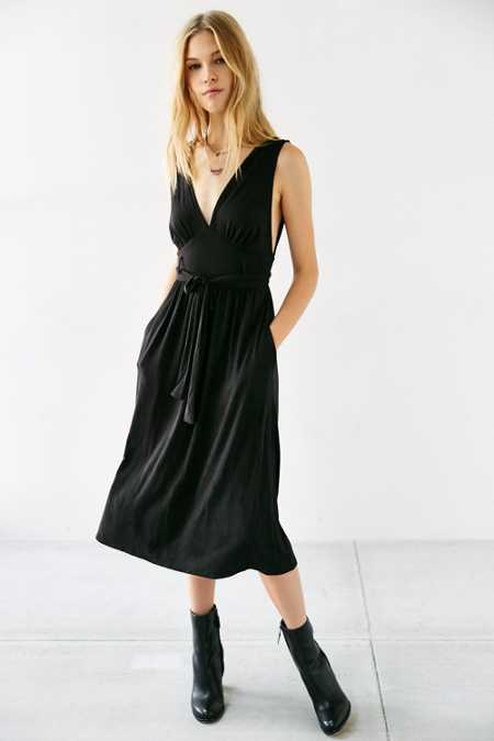 Silence + Noise Jagger Midi Dress
