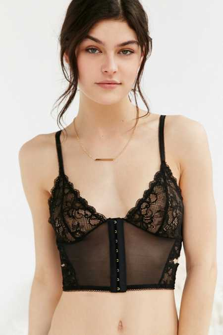 Out From Under Front Hook Longline Bra