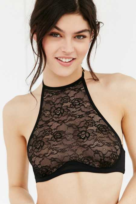 Out From Under High-Neck Underwire Bra
