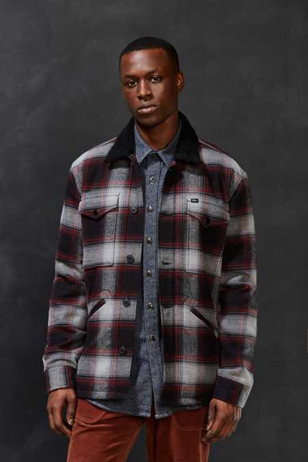 OBEY Grayson Plaid Jacket