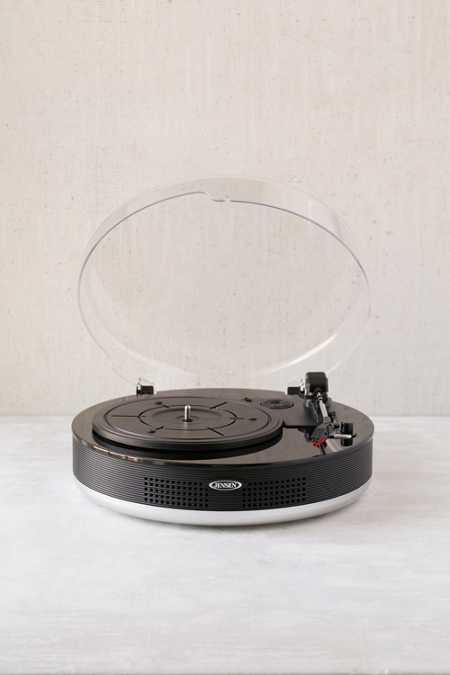 Jensen JTA-455 Bluetooth 3-Speed Stereo Turntable