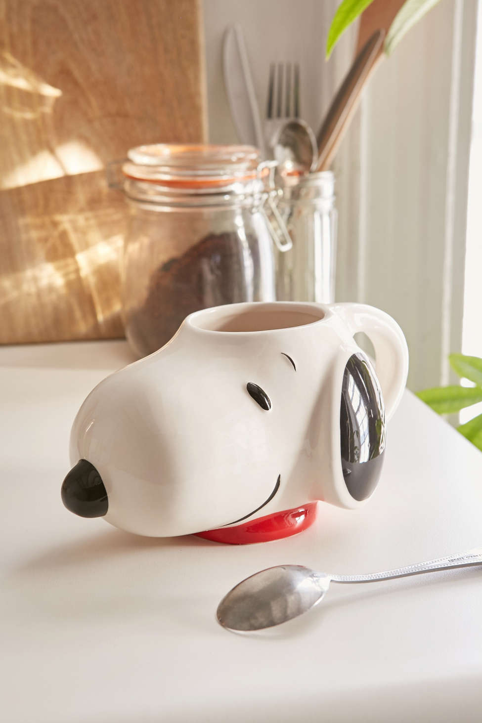 Darling Snoopy face mug