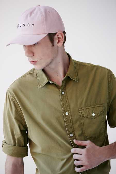 CPO Garment Washed Poplin Button-Down Shirt