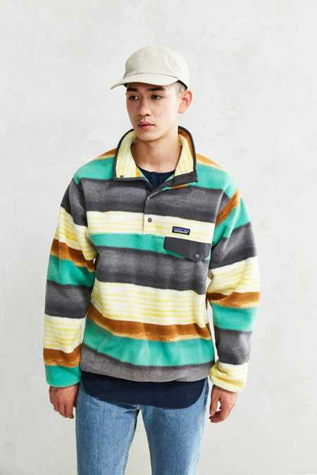 Patagonia Synchilla Snap-T Pullover Jacket