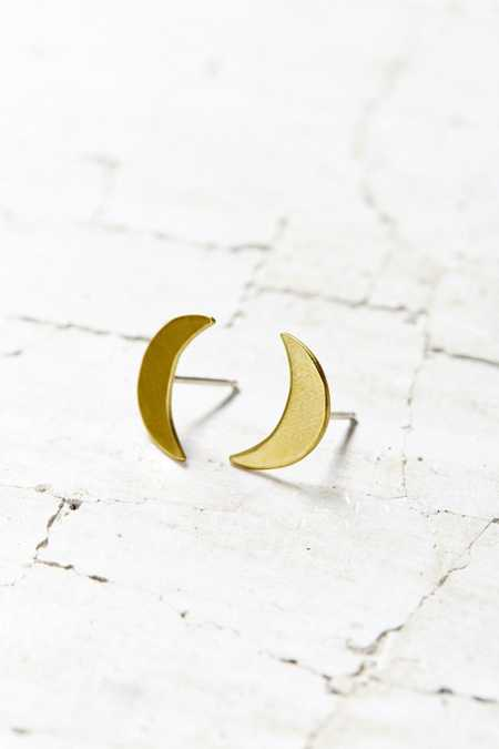 Natalie Joy Crescent Post Earring